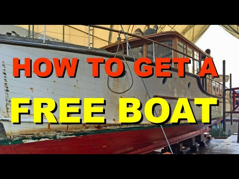 HOW TO GET A FREE BOAT 2018
