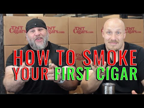 HOW TO SMOKE your first cigar!! (f. Ashton Cabinet)