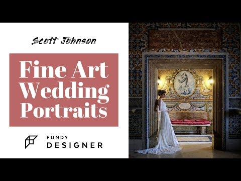 WEDDING PHOTOGRAPHY | Fine Art Wedding Portraits with Scott Johnson thumbnail