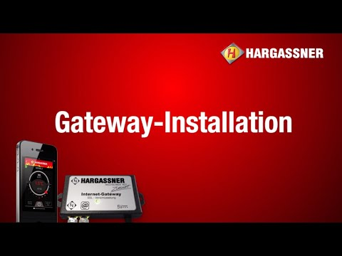hargassner heating technology app gateway installation. Black Bedroom Furniture Sets. Home Design Ideas