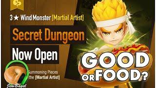 SUMMONERS WAR : Lo the Wind Martial Artist Secret Dungeon - Good or Food?