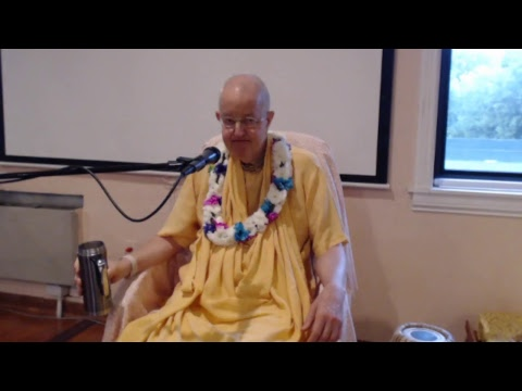 "ISKCON Naperville: ""SB Class (3.20.51-53): Real purpose of all rituals is KC"" by HH Romapada Swami"