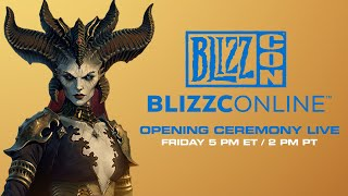 Blizzcon 2021: Opening Ceremony (Diablo II, Diablo IV, Warcraft + More)