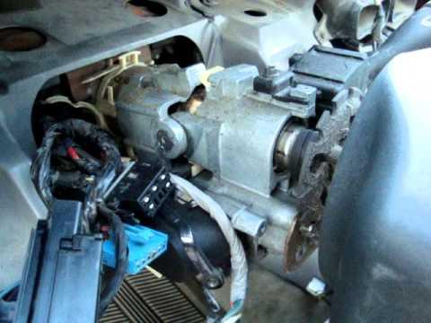 96cavalier inside steering column youtube rh youtube com