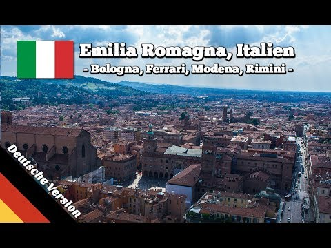 Top Sehenswürdigkeiten in Emilia Romagna: Bologna, Ferrari, Rimini, Modena, San Marino
