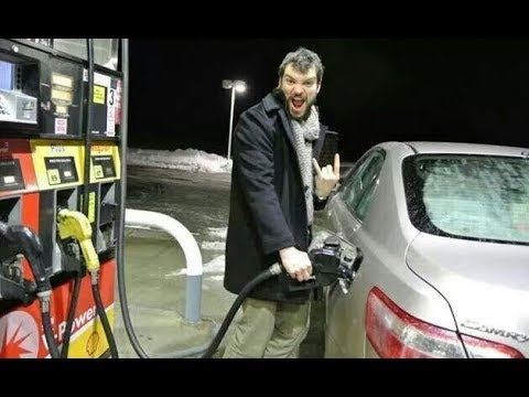 YOU CAN PUMP YOUR OWN GAS IN OREGON! SO WHY ARE THEY FREAKING OUT?!