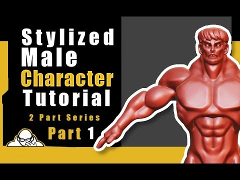 Part 1 Blender 2.8 Tutorial Stylized Male Character