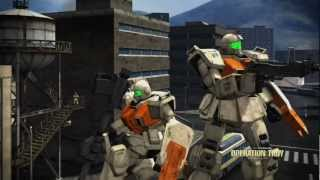 Mobile Suit Gundam Operation Troy Gameplay HD (XBox 360)