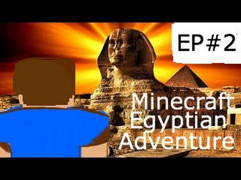 Minecraft PS4 Egyptian Adventure | Custom Map | Part 2