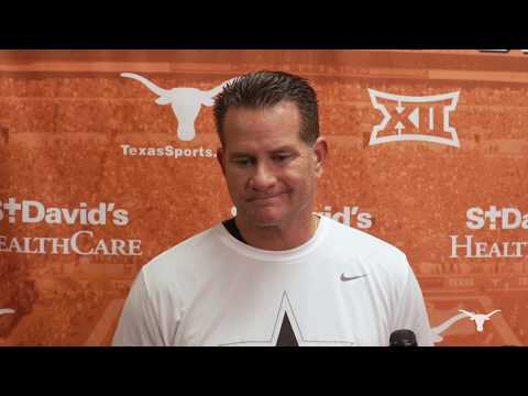 The Bottom Line - Todd Orlando And Tim Beck Address The Media Ahead Of Texas vs. Texas Tech