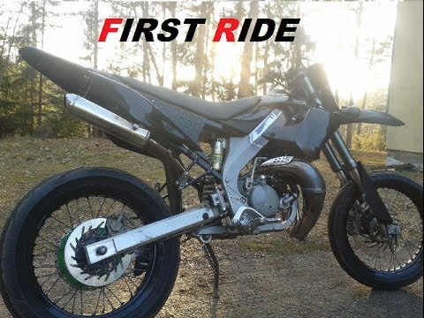 Derbi DRD Pro SM - First Ride