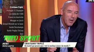 {DEBRIEF} Portugal vs Espagne 3-3 Ronaldo Triplé : Un Match qui prouve que c'est le N°1? Eq du soir