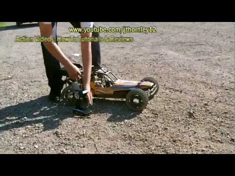 AoWei Yama Gasoline RC Buggy Maiden Bashing Pt 1