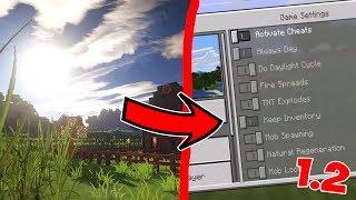 НОВЫЕ ВОЗМОЖНОСТИ в Minecraft PE 1.2 (ОБНОВЛЕНИЕ)
