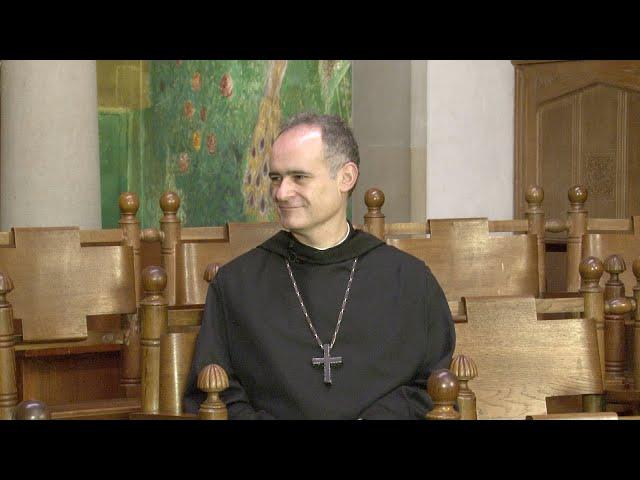 Primera entrevista al P. Abat Manel Gasch i Hurios
