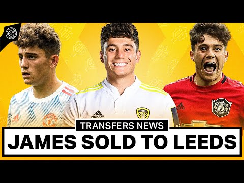 Dan James To Leeds CONFIRMED | Man United Transfer News