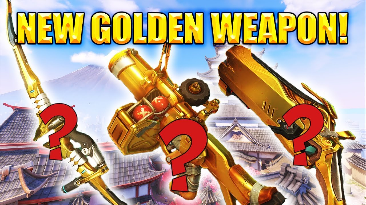 THE NEW GOLDEN WEAPON! [Overwatch] Video