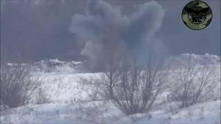 Боевая группа К-2 из 54-й бригады ВСУ прямым попаданием уничтожила пулеметную точку врага.