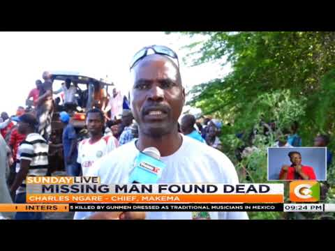Missing man's body found inside car...