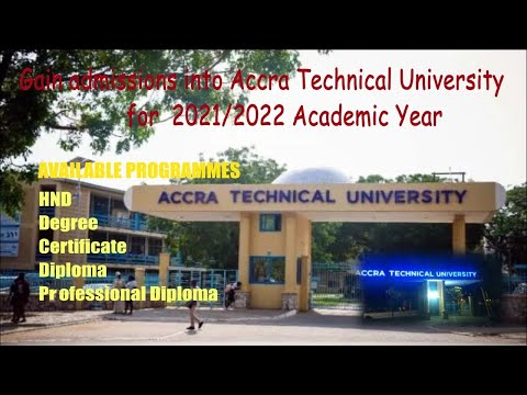 All you need to know & gain admissions into Accra Technical University