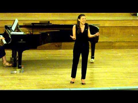 Giuseppina Bridelli: Non più mesta (La Cenerentola, Rossini)