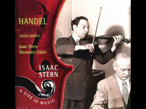 Händel-Violin Sonata in D Major Op. 1 No. 4 HWV371: IV (Cmplete)