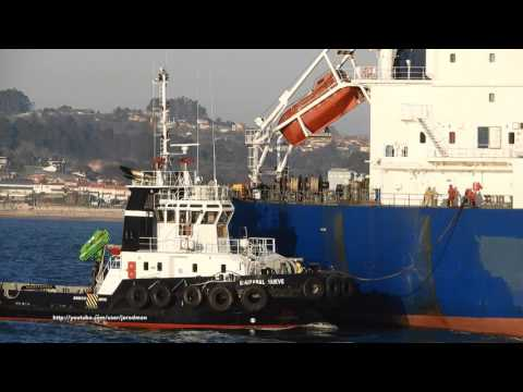 Oil/Chemical tanker MOUNT EVEREST arrives in A Coruña [4K]