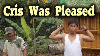 Moving a Bahay Kubo - Nipa Hut - Bayanihan - Unloading by hand 3 of 3
