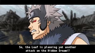 Naruto Shippuden Kizuna Drive Walkthrough Part 2 Bandit Leader Boss Fight 60 FPS