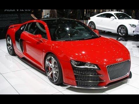 Audi R8 V-12 TDI Concept - CAR and DRIVER