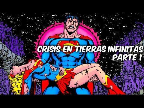 """EL EVENTO MAS EPICO DE DC COMICS """"CRISIS EN TIERRAS INFINITAS"""" Parte 1 Ft heyner"""
