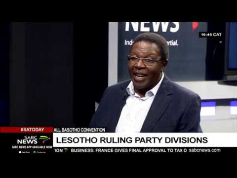 Lesotho ruling party divisions:  Prof. Nqosa Mahao