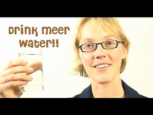 Drink meer water