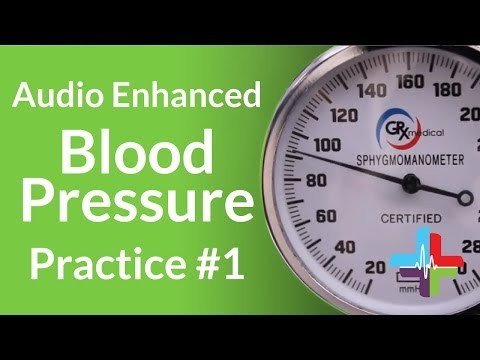 Audio Enhanced Blood Pressure Practice #1