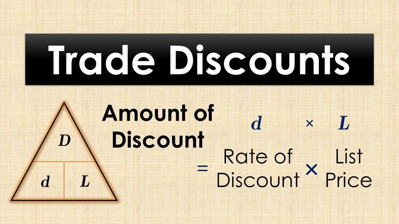 Download Trade Discounts