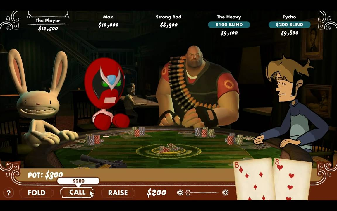 Heavy weapons guy poker night other games like poker