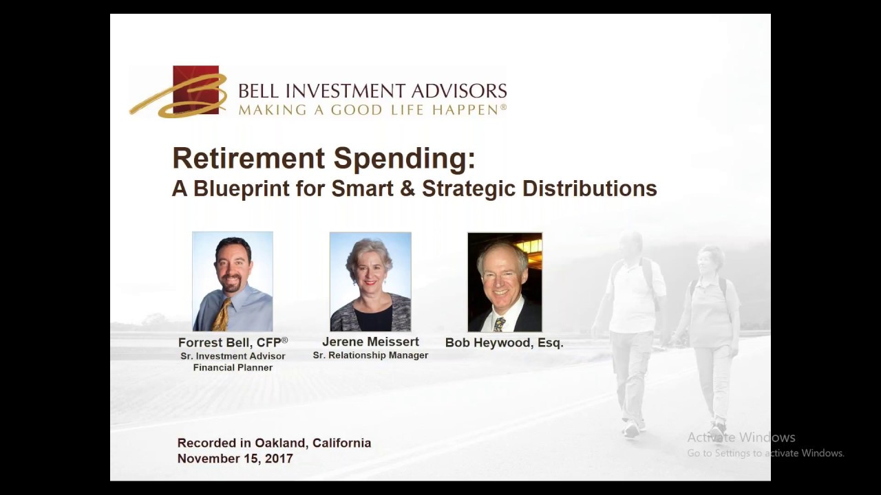 Retirement spending a blueprint for smart strategic retirement spending a blueprint for smart strategic distributions bell investment advisors malvernweather Gallery