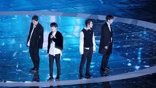 171104 뉴이스트 w nu'est _ 하루만 just one day 직캠 fancam_ 평창드림콘서트 dream concert