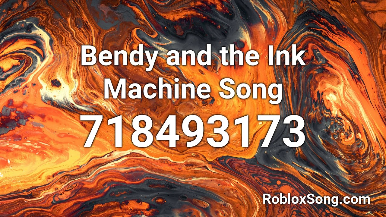 Bendy And The Ink Machine Song Roblox Id Music Code Youtube