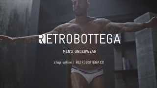 RETROBOTTEGA Men's Underwear | Launch Collection Commercial