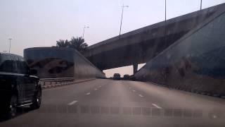 Car speed on  Dubai Road