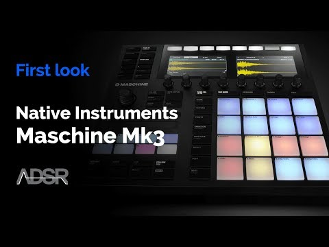 Maschine Mk3 - First Look : New features and hardware overview