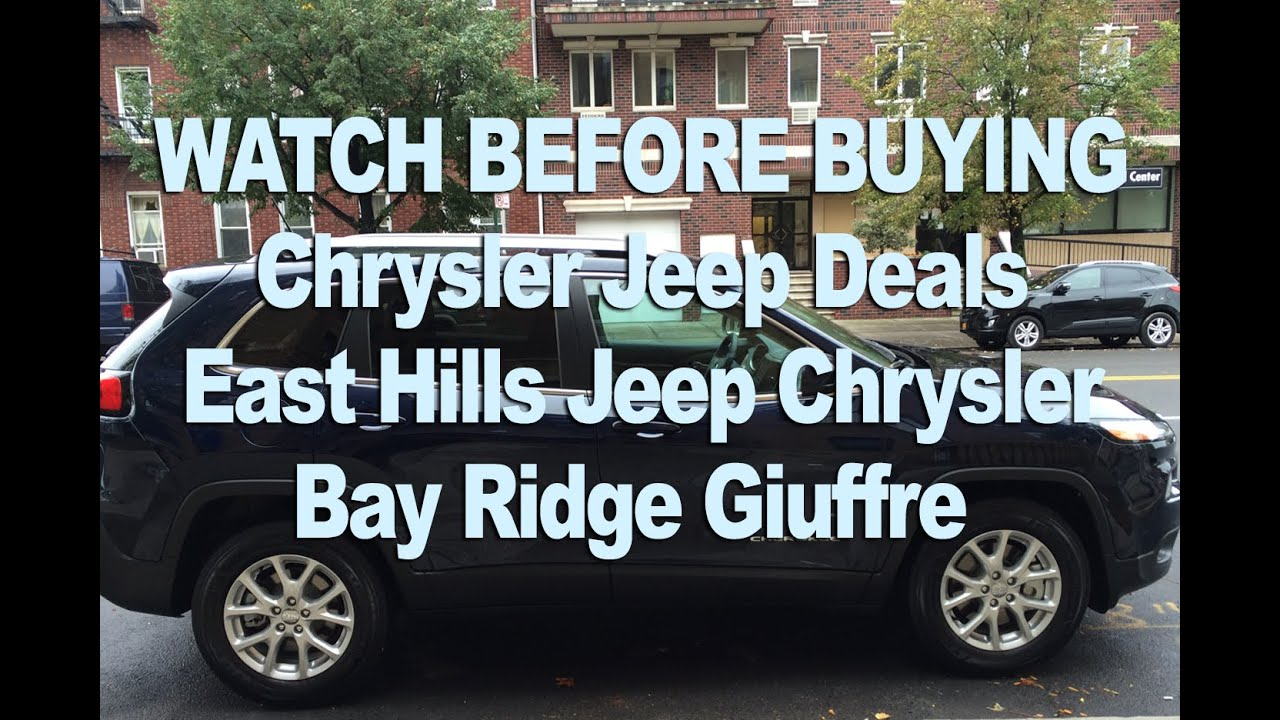 Chrysler Jeep Deals Brooklyn Nyc Review East Hills Jeep