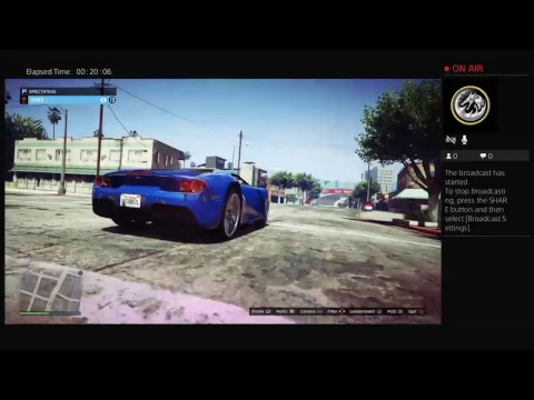 GTA5 ONLINE LIVE WITH FRENDS STUNT RACES JOBS AND MORE