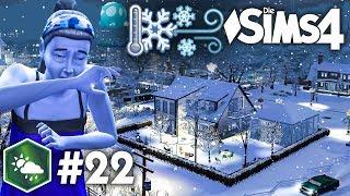 Heftiger Schneesturm! ❄️ | Let's Play Die Sims 4 Jahreszeiten #22