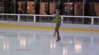 Liadan skating to Celtic Carol by Lindsey Stirling