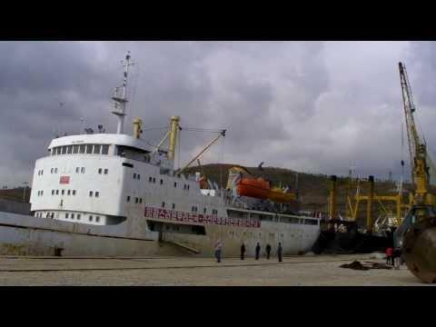 Chinese Pier at Rason Harbor, Rajin, North Korea