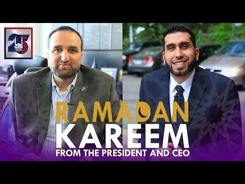Ramadan Kareem - Ramadan 2018 - Islamic Relief USA