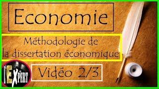 methode de dissertation economique