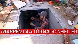 Trapped In A Tornado Shelter
